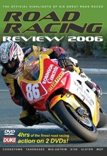 1 of 1 - Road Racing review 2006 (New 2 DVD set) Ulster GP Manx GP Cookstown 100