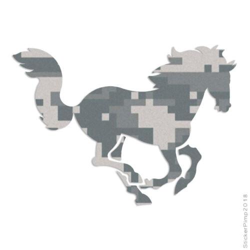 Size #901 Running Horse Gallop Decal Sticker Choose Pattern
