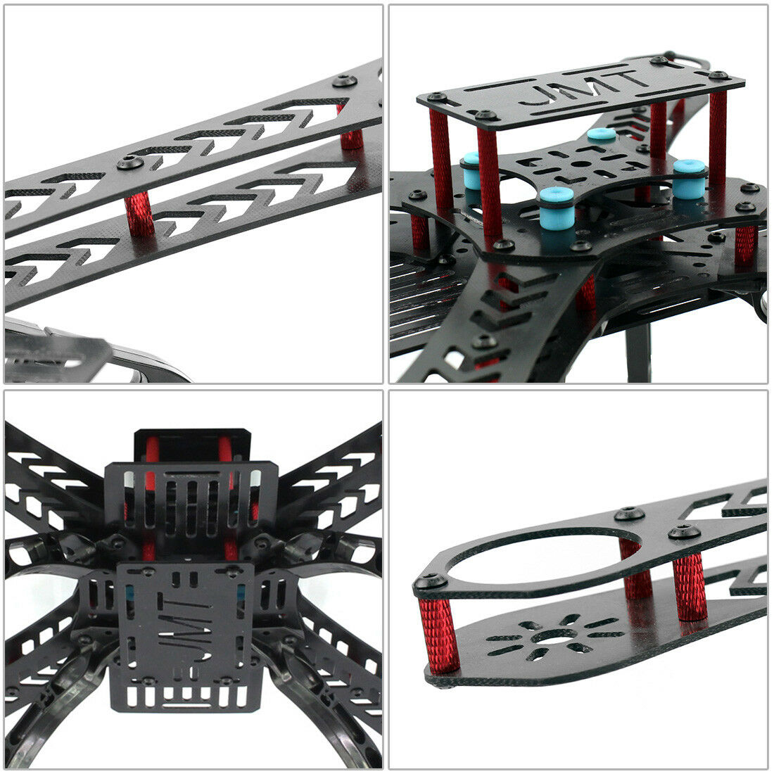 QQ Super Multi-rossoore Volo controllo DIY 310mm vetroresina RC RACING Drone
