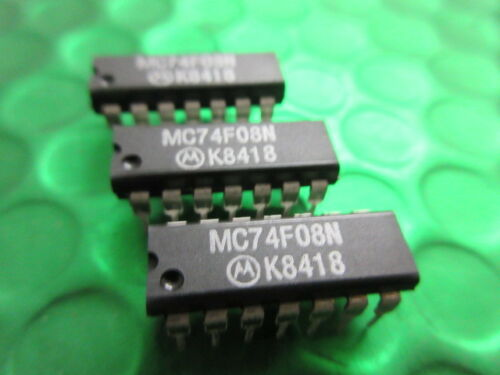 MC74F08N Motorola IC ** 5 per ogni vendita ** £ 0.75ea SN74F08N