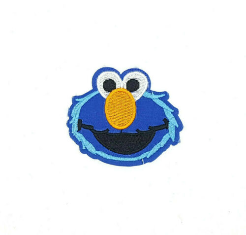 Sesame Street Iron On Sew On Embroidered Patch