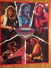 NIGHT RANGER 1985 SEVEN WISHES Tour Concert Program