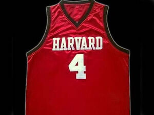 JEREMY-LIN-HARVARD-BASKETBALL-JERSEY-RED-QUALITY-NEW-SEWN-ANY-SIZE