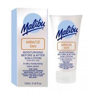 MALIBU-miracolo-Tan-prima-LOZIONE-dopo-sole-amp-150-ML