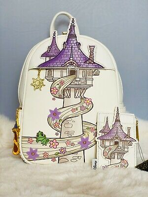 Loungefly Disney Tangled Tower Mini Backpack Set Ebay