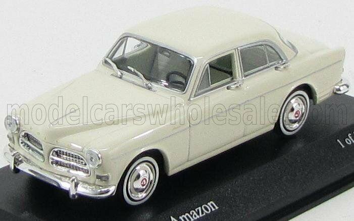 Maravilloso MODELCoche Volvo Amazon 121 4 puertas berlina 1959-californiablancoo - 1 43