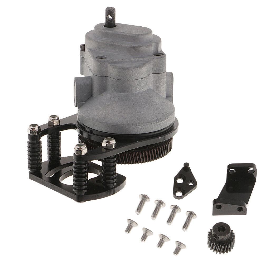 Grüneilergetriebe Transmission Getriebe Gear Box für 1 10 D90   D110 RC  | Um Zuerst Unter ähnlichen Produkten Rang
