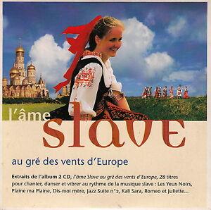Compilation-CD-L-039-Ame-Slave-Au-Gre-Des-Vents-De-L-039-Europe-Promo-France-EX-M