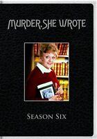 Murder She Wrote Season 6 Six Sealed 5 Dvd Set