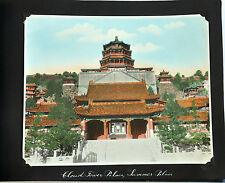 20 PHOTO ALBUM CHINA CHINESE VIEW BEIJING HAND TINTED SILVER PHOTOS 1925