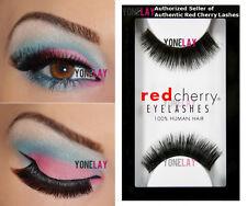 Lot 6 Pairs RED CHERRY #79 False Eyelashes Human Hair Lash Fake Eye Lashes