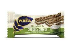 24 Riegel Wasa Sandwich Käse & Schnittlauch Cheese & Chives37g Roggen Knäckebrot