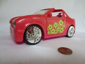 Polly-Pocket-Red-Convertible-Car-2005-Mattel