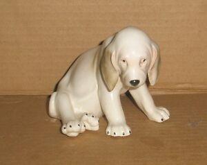 Test/sample Dog Figurine / Hound Pup, Spanish ? unfinished