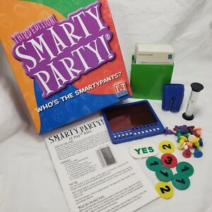 Smarty-Party-Board-Game-Replacement-Parts-Pieces-Pants-Tokens-Cards-Viewer-Chips