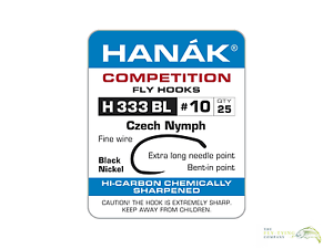 Hanak h333bl Czech Nymph Haken Größen 10 to 14