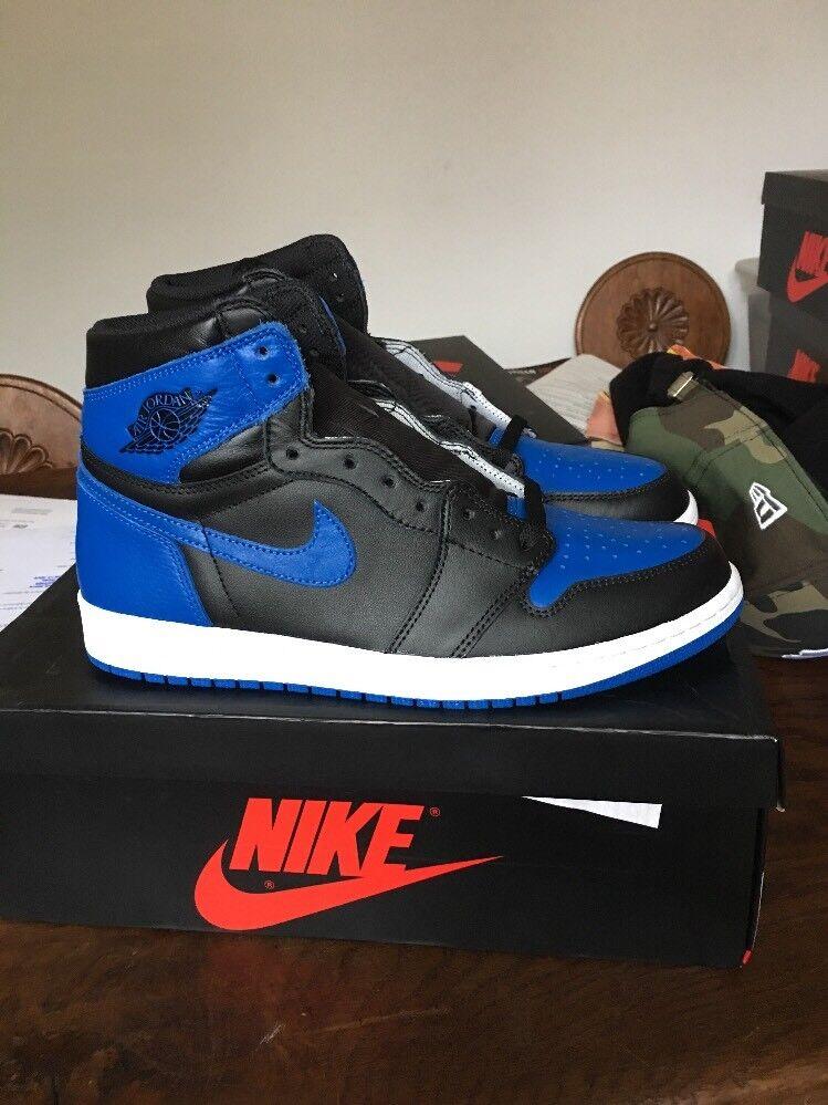 Air Jordan Jordan Jordan 1 Rétro High Og Royal blu Dimensione 7;7,5;8,5; 10;12,5(40;40,5;42,44;47) 4311bc