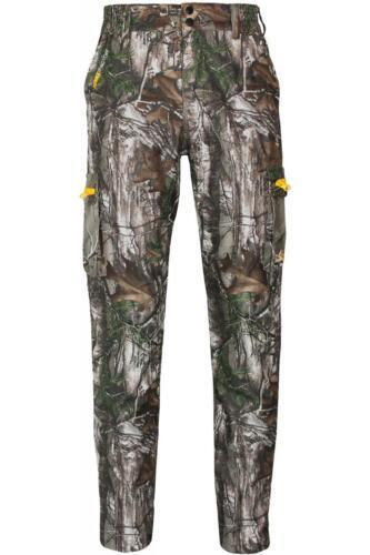 Da Uomo Camouflage Realtree Xtra Impermeabile Traspirante Pantaloni Pantaloni all/'aperto