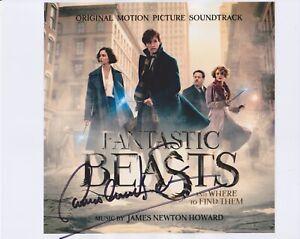 James-Newton-Howard-HAND-SIGNED-8x10-Photo-Composer-Fantastic-Beasts-Batman-B