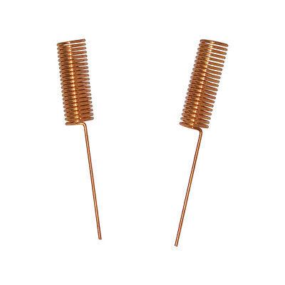 10pcs 433MHZ Helical Antenna 433MHZ Copper Spring Antenna 20x4x0.6mm