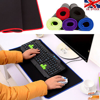 Large 60*30cm Pro Gaming Game Mouse Pad Mat for PC Laptop Computer Keyboard