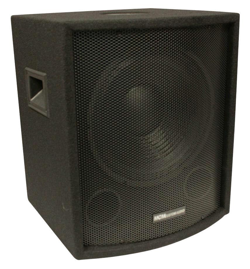 NEW 12  SubWoofer Speaker.Pro Audio.DJ.PA.Woofer w  Cabinet.BASS Sub w  box.8ohm
