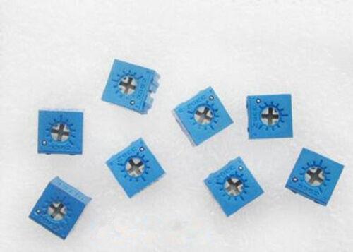 5 pcs 10K Ohm 3362P-103 Trim Pot Trimmer Variable Résistance Potentiomètre