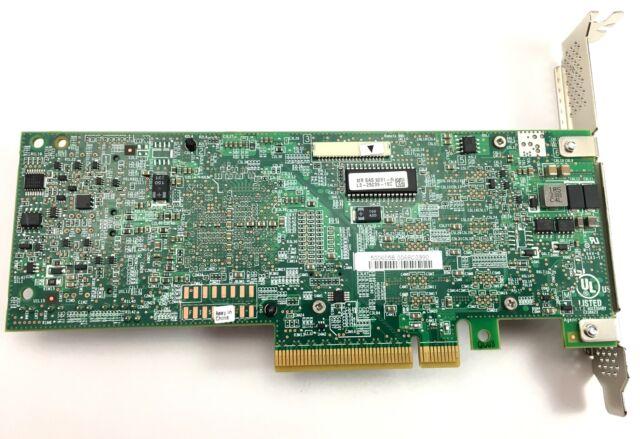 LSI MegaRAID SAS 9261-8i PCIe RAID Controller Card L3-25239-15c for