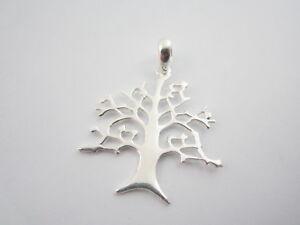 1 ciondolo albero della vita in argento 925 della misura di 37x28 mm