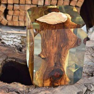 Resina-Epoxi-transparente-Ultra-Baja-Viscosidad-UV-3D-Mesa-de-Rio-Arte-Penny-piso-1kg-Kilo