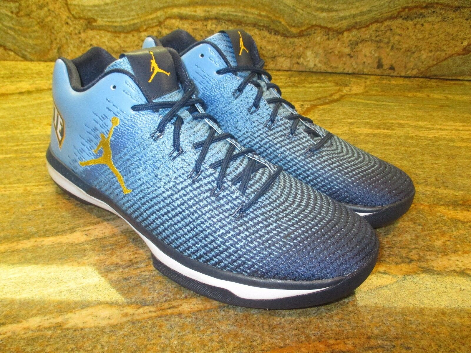 Unreleased Nike Air Jordan XXX1 Low Promo Sample SZ 14 Marquette PE golden Eagle