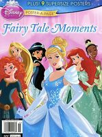 Disney Princess Magazine 2015 Poster-a-page Fairy Tale Moments Free Shipping