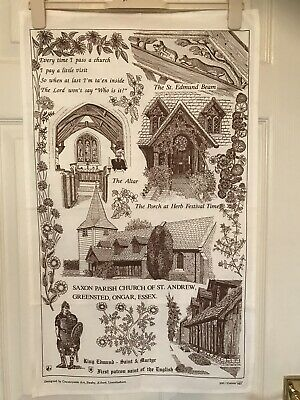 St Johns The Baptists Kings Norton Tea towel FREE POSTAGE