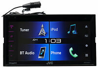 Jvc Kw-v330bt 6.8 2-din Car Dvd Receiver W/bluetooth/siri Eyes/iphone/android on sale