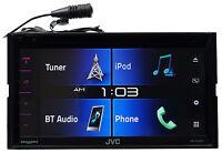 Jvc Kw-v330bt 6.8 2-din Car Dvd Receiver W/bluetooth/siri Eyes/iphone/android