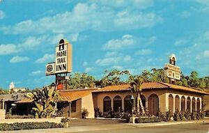San-Diego-California-Padre-Trail-Inn-Old-Town-1960s-Postcard