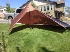 Ultra Light 9.5oz Jimmy Tarps Granite Mountain Shelter In Coyote Brown