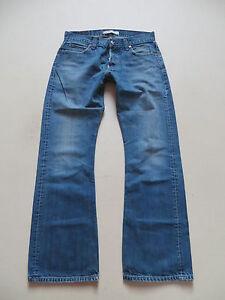 Levi-039-s-512-Bootcut-Jeans-Hose-W-33-L-34-Faded-washed-Vintage-Denim-RAR
