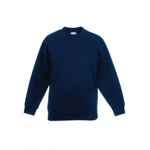 Fruit of the loom Kinder Sweatshirt Set-In Kids Sweat 80//20 11 Farben 104-164