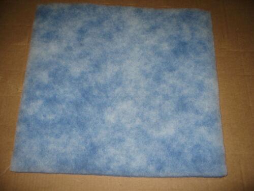 "AIR HANDLER Polyester Filter Media Pad 20/""x20/""x1/"""