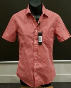 Diesel-Designer-Short-Sleeve-Shirt-Size-Small