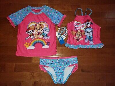 BPA Free Water Bottle Paw Patrol Toddler Girls Tankini Swimsuit Towel