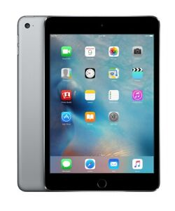 Apple Ipad Mini 4th Gen 64gb Space Gray Wifi Rare Ios 10 10 3 3 Excellent 888462367967 Ebay