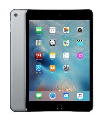 Apple Ipad Mini 4th Gen 64gb Space Gray Wifi Rare Ios 10 10 3 3 Excellent 888462367967 Ebay
