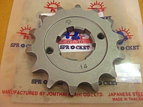 HONDA CB77 CB72 250 305 SUPERHAWK CARBON STEEL FRONT SPROCKET 14T  #BI781#