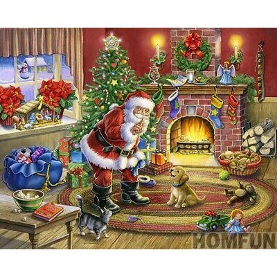 DIY Diamond Painting Kit Nightmare Before Christmas Diamond Painting Full Drill Cross Stitch Mosaic Painting Decor Full Drill SquareRound