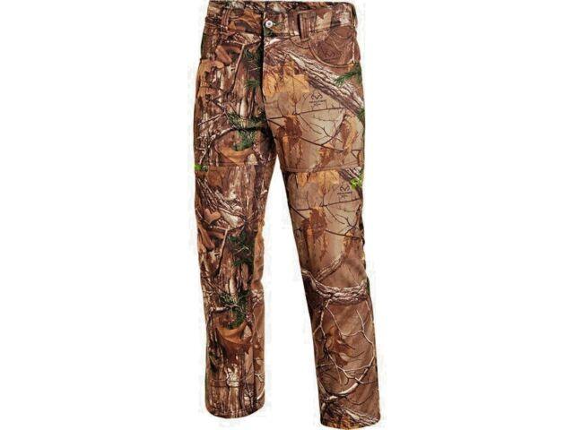 89df35713ebb1 Under Armour Fleece MossyOak Scent Control Camo Hunting Pants for Men 2xl