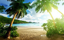 Sunny Beach Vinyl Studio Backdrop Photography Prop Photo Background 7x5ft MH376