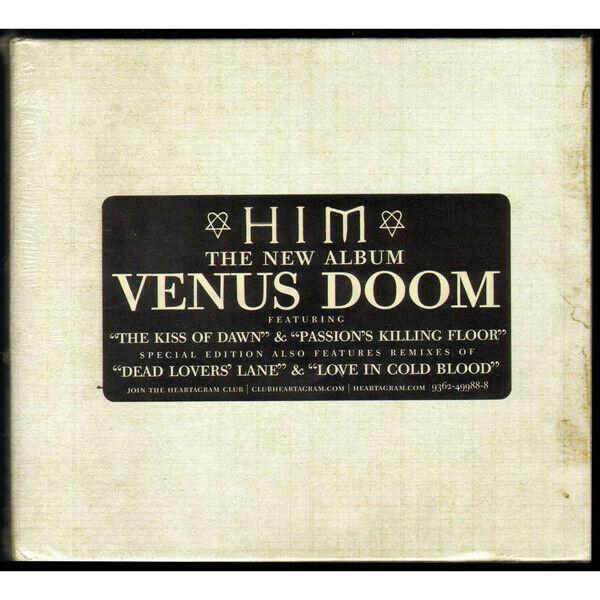 HIM - VENUS DOOM - SPECIAL EDITION 2 CD DIGIBOOK WITH ARTWORK