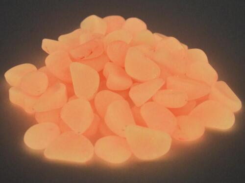 Leuchtsteine Leuchtende Deko Steine ca.80 Steine Rot 1,5-3,0 cm 74308